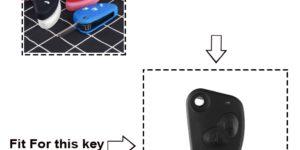 Cover in silicone telecomando/chiave per Alfa Romeo 147 166 156 JTD TS GT  1