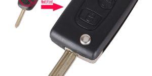 Case Modificato chiave per Citroen C1 C2 C3 Saxo /Xsara /Picasso /Berlingo